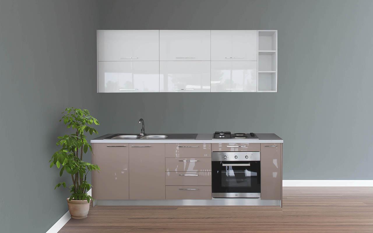 Kuzhine Akrelik 4 metra lineare e kompletuar Image